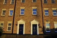 Alte London-Häuser Lizenzfreie Stockbilder