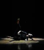 Alte luce e linea-should've sald, amo il ballo voi-moderno Fotografia Stock Libera da Diritti