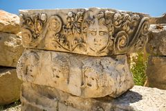 Alte lycian Myra-Ruinen bei der Türkei Demre Lizenzfreie Stockfotografie