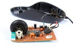 Alte Mäusetechnologie lizenzfreies stockbild