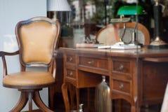 Alte Möbel Stockbild
