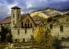 Alte Mühle Lizenzfreies Stockfoto
