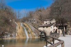 Alte Mühle im Frühjahr Lizenzfreie Stockfotografie