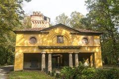 Alte Mühle im Monza-Park Lizenzfreies Stockfoto