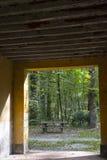 Alte Mühle im Monza-Park Stockfotos