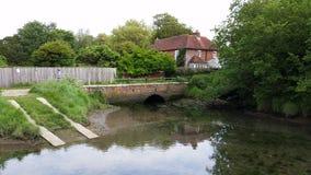 Alte Mühle in Langstone Lizenzfreie Stockbilder
