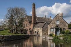 Alte Mühle, niedrigeres Gemetzel Stockbilder
