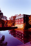 Alte Mühle reflektiert Lizenzfreies Stockbild