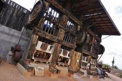 Alte Mühle Stempel des Westens 20 - Arizona, USA Stockbilder