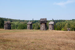 Alte Mühlen Stockbild