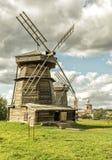 Alte Mühlen in Suzdal, Russland Lizenzfreies Stockbild
