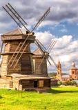 Alte Mühlen in Suzdal, Russland Stockfotografie
