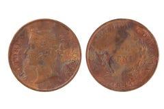 Alte Münze Lizenzfreie Stockfotos