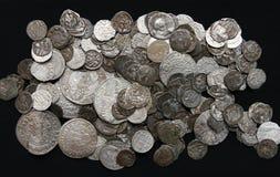 Alte Münzen Lizenzfreie Stockbilder