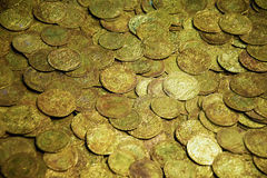 Alte Münzen Lizenzfreies Stockfoto