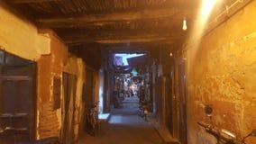 Alte madina Straße lizenzfreies stockbild