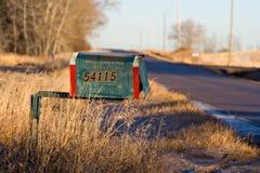 Alte Mailbox Stockbilder