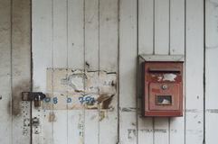 Alte Mailbox Lizenzfreie Stockbilder