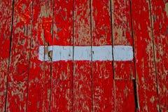 Alte Markierungen in der Turnhalle Lizenzfreie Stockfotografie
