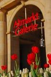 Alte Markt-Galerie in Dresden Lizenzfreie Stockfotos