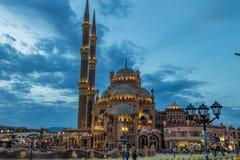 Alte Markt-Moschee - Sharm el Sheikh - Al Sahaba Mosque Stockbild