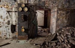Alte Maschine Stockbild
