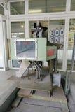 Alte Maschine in der redtory Kunst- und Designfabrik, luftgetrockneter Ziegelstein rgb Lizenzfreie Stockfotografie