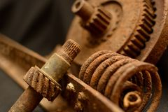 Alte Maschinenteile Lizenzfreie Stockfotografie