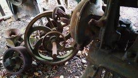 Alte Maschinerie Stockfoto