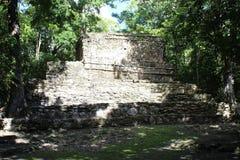 Alte Mayaruine in Quintana Roo, Mexiko Stockfotografie