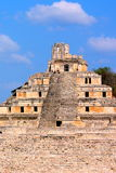 Alte Mayastadt von Edzna XIII Stockbild
