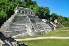 Alte Mayatempel Palenque Stockbild