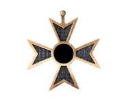 Alte Medaille Stockbild