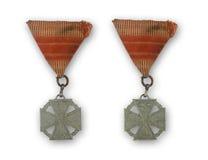 Alte Medaille Lizenzfreies Stockfoto