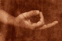 Alte Meditation vektor abbildung