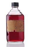 Alte Medizin-Flasche Lizenzfreie Stockfotos