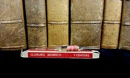 Alte Medizin und medizinische Bücher Lizenzfreies Stockbild