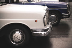 Alte Mercedes-Benz-Autos lizenzfreies stockbild