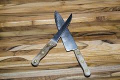Alte Messer Lizenzfreie Stockbilder