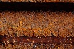 Alte Metalleisen-Rostbeschaffenheit Abstrakte Abbildung Lizenzfreie Stockbilder