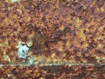 Alte Metalleisenrostbeschaffenheit/-hintergrund Stockbilder