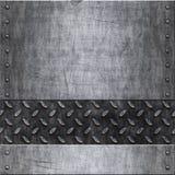 Alte Metallhintergrundbeschaffenheit lizenzfreie abbildung