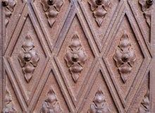 Alte metallische Tür in der Weinleseart Lizenzfreie Stockfotos