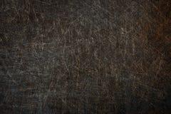 Alte Metalloberfläche mit Kratzern und Rosthintergrund Lizenzfreie Stockfotos