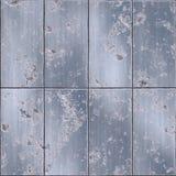 Alte Metallplatten Stockfotos