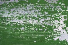 Alte Metallwand mit abgezogener weg Farbe lizenzfreie stockfotos