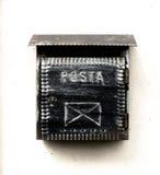 Alte Metalmailbox Lizenzfreie Stockfotografie