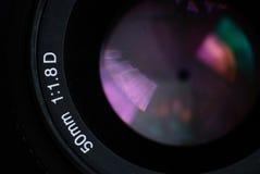 Alte 50 Millimeter-Linse Lizenzfreie Stockfotos