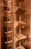 Alte Minenmaschiene Stockfoto