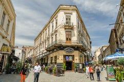 Alte Mitte Bukarests Stockfoto